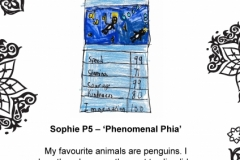 Sophie Cartwright P5 Linlithgow